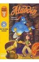 Фото - Level 2 Aladdin American Edition with Audio CD/CD-ROM