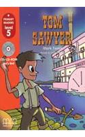Фото - Level 5 Tom Sawyer American Edition with Audio CD/CD-ROM