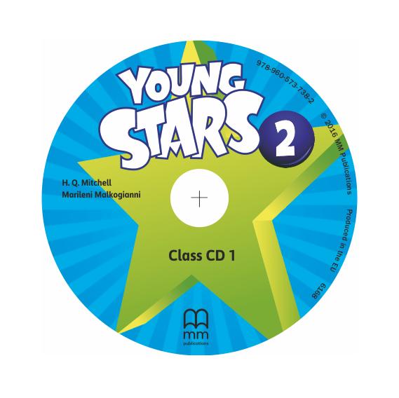 Фото - Young Stars 2 Class CDs
