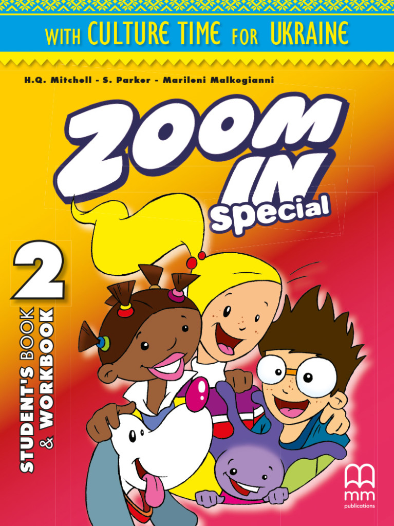Фото - Zoom in 2 SB+WB with ABC book & CD-ROM