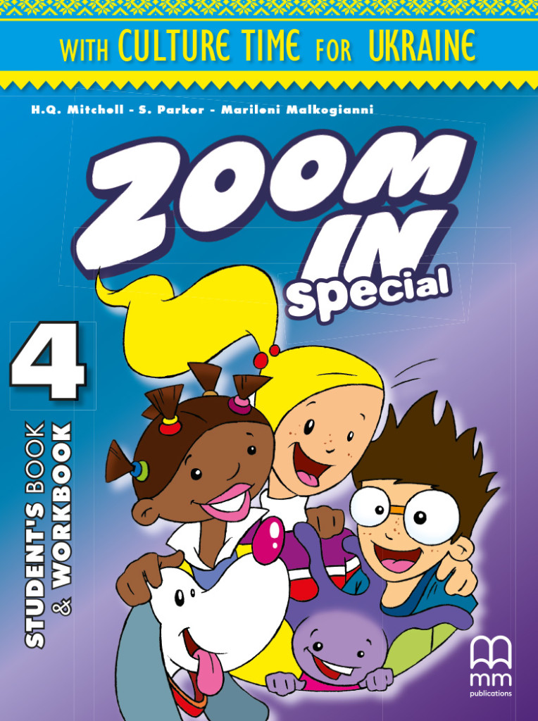 Фото - Zoom in 4 SB+WB with ABC book & CD-ROM