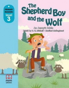 Фото - Level 3 The Shepherd Boy and the Wolf with CD-ROM