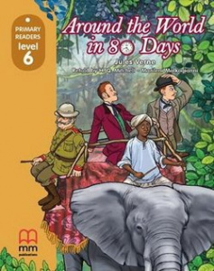 Фото - Level 6 Around the World in Eighty Days with CD-ROM