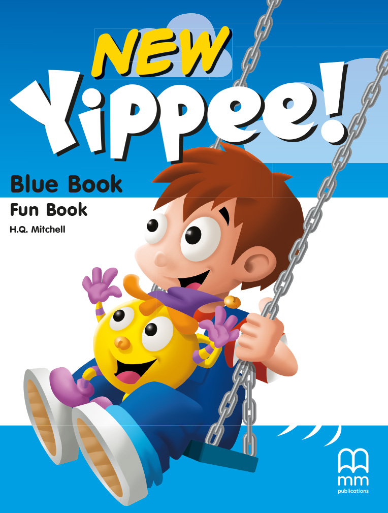 Фото - New Yippee Blue Fun Book with CD-ROM