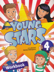 Фото - Young Stars 4 Workbook with CD