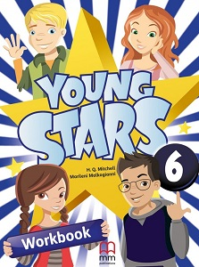Фото - Young Stars 6 Workbook with CD